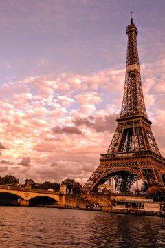 Tour Eiffel d'automne, Paris, France