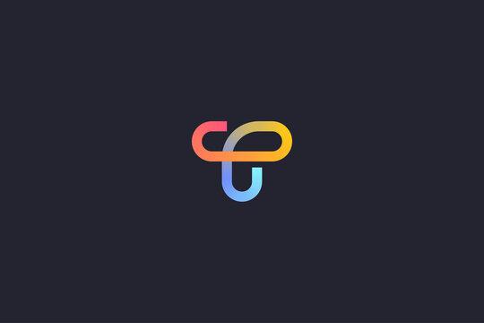 Technology Letter Z Logo Abstract Whimsical Monogram