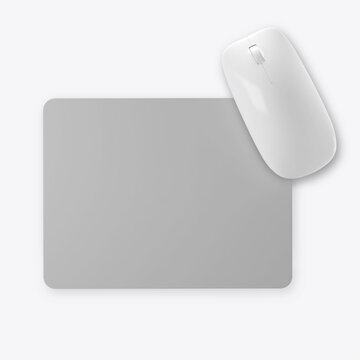 Mouse Pad mockup on white background