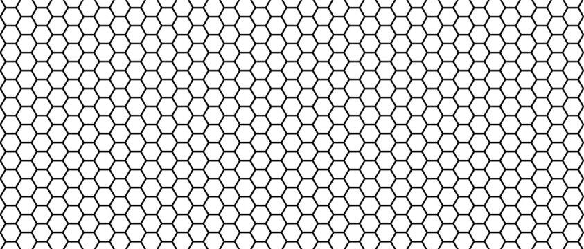Empty football net or  soccer goal net pattern. Flat vector background. Play team sport. Honeycomb pattern