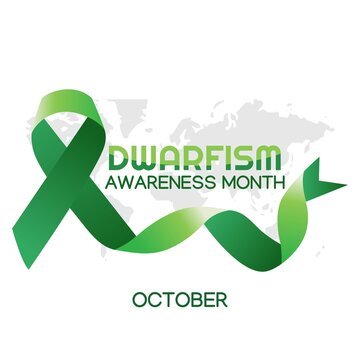 dwarfism awareness month vector illustration