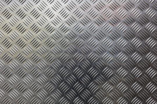 Diamond blue steel metal sheet