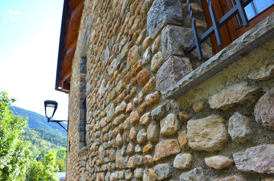 Traditional Stone Wall Construction in the Catalan Pyrenees