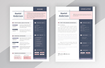 Modern Creative Resume Cv Template