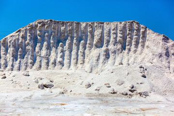 Mountain of natural salt.