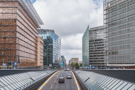 Rue de la Loi, Wetstraat Brussels