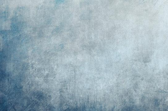 Scraped blue background