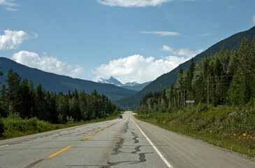 Views and landscapes of Canada