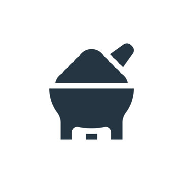 molcajete icon. Glyph molcajete icon for website design and mobile, app development, print. molcajete icon from filled mexico collection isolated on white background..