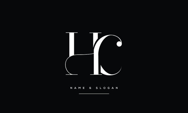 HC,CH,H,C  Abstract Letters Logo Monogram