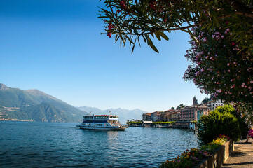 The beautiful lake Como in Northern Italy is surrounded by lovely little towns and stunning villas. The views are magical