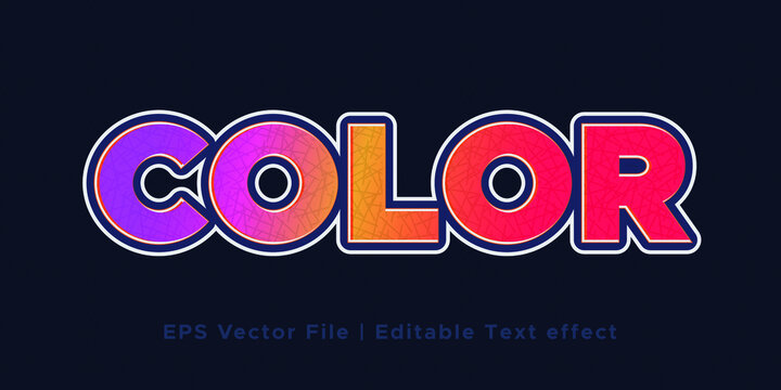 text effect layer style font design typography