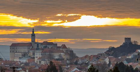 Mikulov castle, South Moravia, Czech Republic