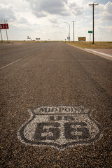 Fotobehang Route 66 Route 66, USA scenes.