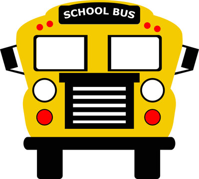 school bus svg vector cut file for cricut and silhouette machine