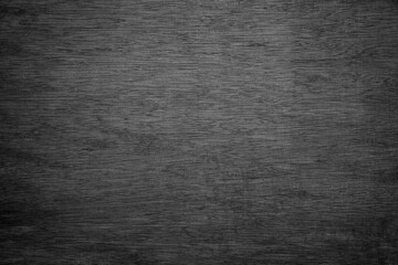 Fototapete - Full frame of black wooden background texture