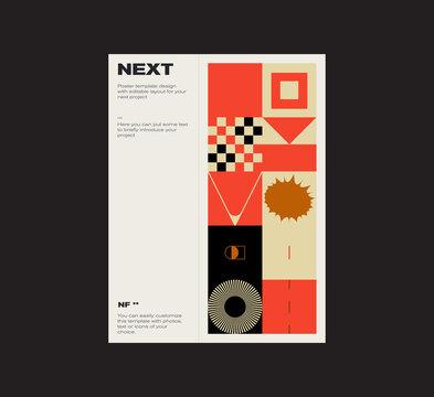 Modernism Design Vector Cover Mockup