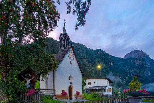 Kleine Kirche in Tirol