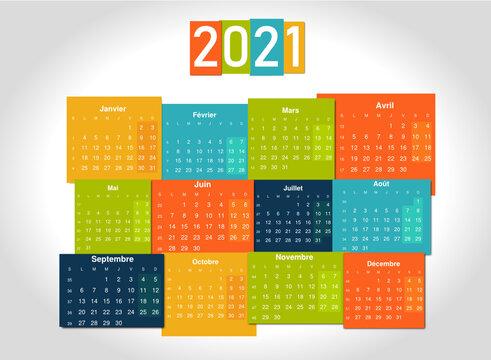 Calendrier Soft 2021
