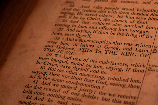 THIS IS THE KING OF THE JEWS.