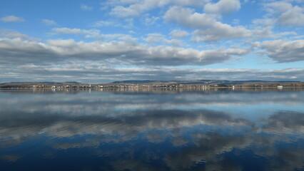 Blick über den Untersee auf Radolfzell