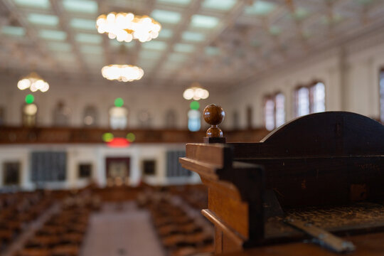 Inside the chambers of Austin Texas capitol building