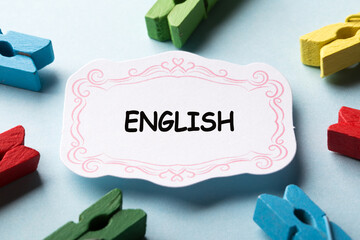 English Learning Concept For Business