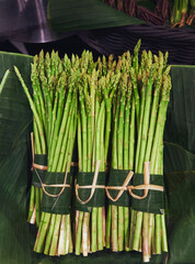 Asparagus Fresh vegetable Farm product Food market