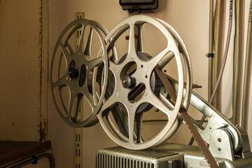 Ancien projecteur de cinéma