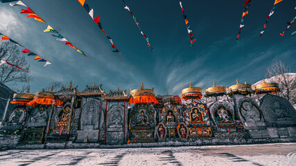 Yushu, one of the highest city in the world