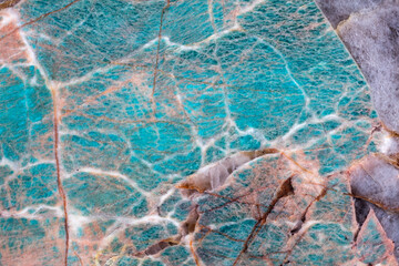 Wall Mural - Excellent blue quartzite background as part of your adorable design work.