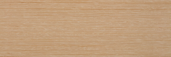 Natural light beige oak veneer background as part of your design. Natural wood texture, pattern.