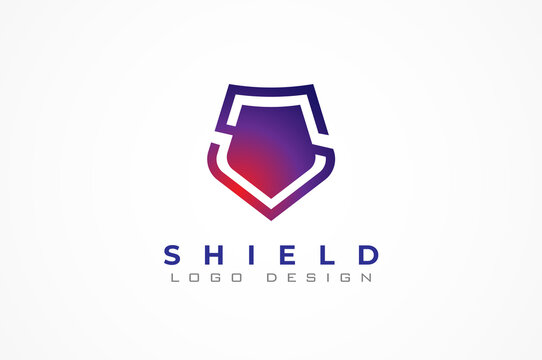 Letter S shield logo isnpiration, shield icon and letter S combination, usable for business and technology logos, vector illustration