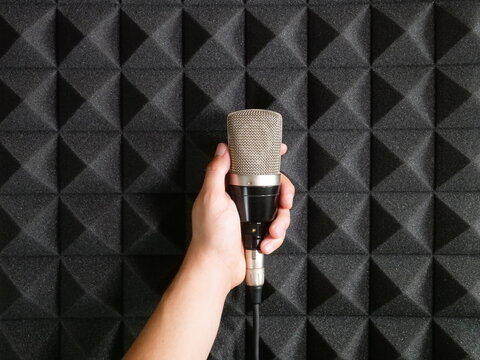 Music studio acoustic equipment