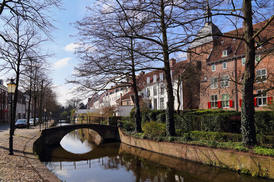 Canal in Amersfoort, Holland