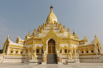 Shwedaw Temple, Yangan, Burma