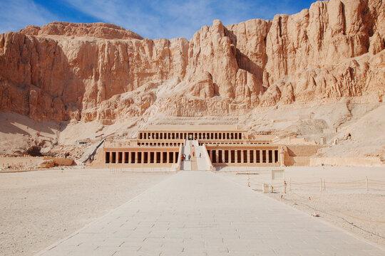 Hatshepsut Temple, Deir el Bahari, Theban Necropolis, Egypt