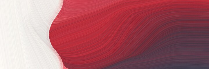 abstract moving banner with dark moderate pink, linen and old mauve colors. fluid curved flowing waves and curves for poster or canvas