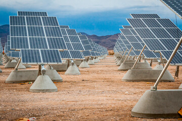 Solar panels in Las Vegas, Nevada
