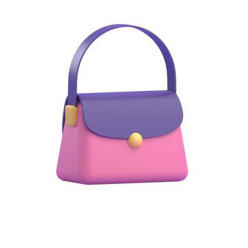 WOMEN HAND BAG 3D RENDER