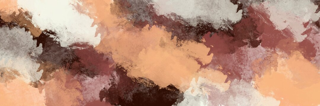 Background of detail of oil painting. - Illustration