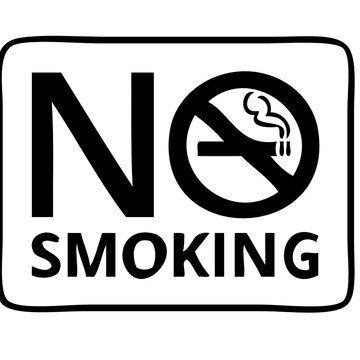 no smoking text files  svg vector cut file for cricut and silhouetteskoking t