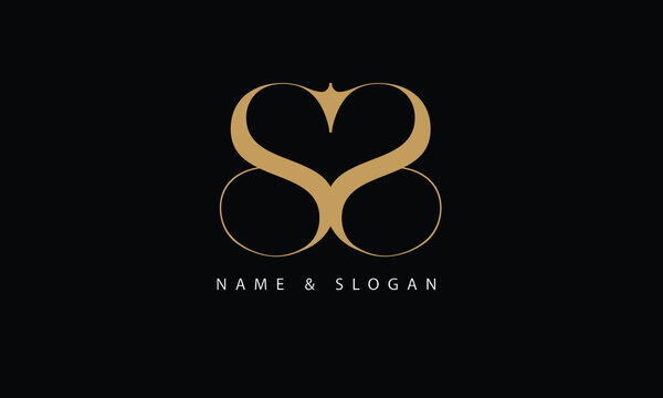SS, S abstract letters logo monogram
