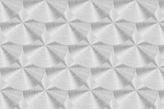 circular metal disk pattern design
