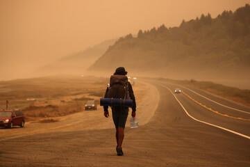 Wildfire rages across western U.S.