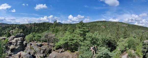 Felsenpanorama Zittauer Gebirge