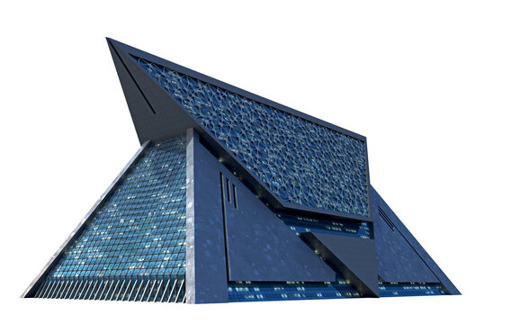 Futuristic Technologist Architecture