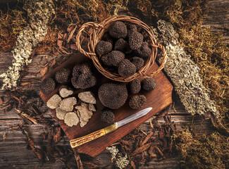 Gorgeous black truffle