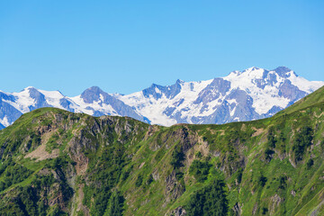 Mountains in Svaneti