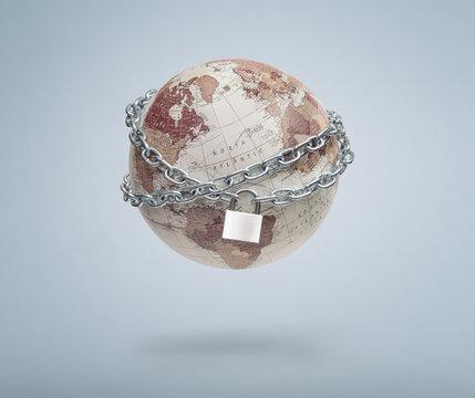 Global economic lockdown